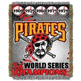 "Pittsburgh Pirates MLB ""Commemorative Woven Tapestry Throw"