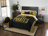 "Pittsburgh Pirates MLB ""Grand Slam"" FullQueen Comforter Set"