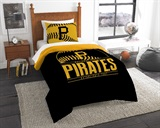"Pittsburgh Pirates MLB ""Grand Slam"" Twin Comforter Set"