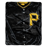 "Pittsburgh Pirates MLB ""Jersey"" Raschel Throw"