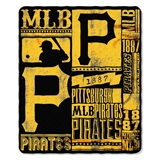 "Pittsburgh Pirates MLB ""Uniform"" Adult Comfy Throw"
