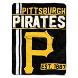"Pittsburgh Pirates MLB ""Walk Off"" Micro Raschel Throw"