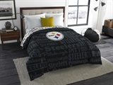 "Pittsburgh Steelers NFL ""Anthem"" Full Comforter"