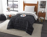 "Pittsburgh Steelers NFL ""Anthem"" Twin Comforter"