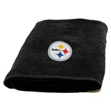Pittsburgh Steelers NFL Applique Bath Towel