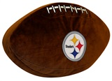 Pittsburgh Steelers NFL Football Shaped 3D Pillow