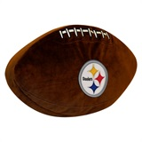 Pittsburgh Steelers NFL  Football Shaped 3D Plush Pillow