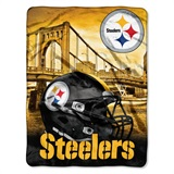 "Pittsburgh Steelers NFL ""Heritage"" Silk Touch Throw"