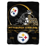 "Pittsburgh Steelers NFL "" Prestige"" Raschel Throw"