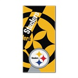 "Pittsburgh Steelers NFL ""Puzzle"" Beach Towel"