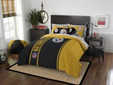 "Pittsburgh Steelers NFL ""Soft & Cozy"" Full Comforter Set"