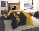 "Pittsburgh Steelers NFL ""Soft & Cozy"" Twin Comforter Set"