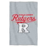 Rutgers  Sweatshirt Throw