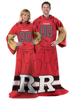 "Rutgers  ""Uniform"" Adult Comfy Throw"