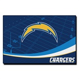San Diego Chargers Large Tufted Rug