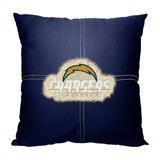 Los Angeles Chargers NFL Letterman Pillow