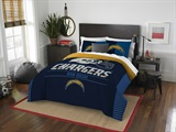 "Los Angeles Chargers NFL ""Draft"" Full/Queen Comforter Set"