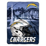 "Los Angeles Chargers NFL ""Heritage"" Silk Touch Throw"