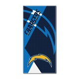 "Los Angeles Chargers NFL ""Puzzle"" Beach Towel"