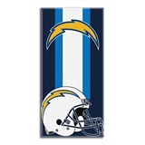 "Los Angeles Chargers NFL ""Zone Read"" Beach Towel"