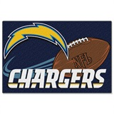 San Diego Chargers Small Tufted Rug