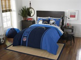 "Los Angeles Chargers NFL ""Soft & Cozy"" Full Comforter Set"