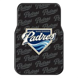 San Diego Padres MLB Car Floor Mat Set