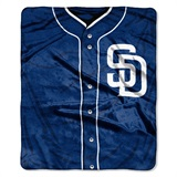 "San Diego Padres MLB ""Jersey"" Raschel Throw"