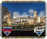 "San Diego Padres MLB ""Petco Park"" Stadium Tapestry Throw"