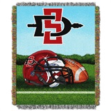 "San Diego State ""Home Field Advantage"" Woven Tapestry Throw"