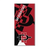"San Diego State ""Puzzle"" Oversized Beach Towel"