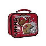 "San Francisco 49ers NFL ""Accelerator"" Lunch Cooler"