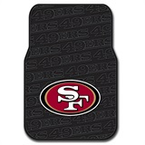 San Francisco 49ers NFL Car Floor Mat Set