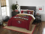 "San Francisco 49ers NFL ""Draft"" Full/Queen Comforter Set"
