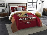 "San Francisco 49ers NFL ""Draft"" King Comforter Set"