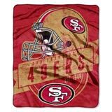 "San Francisco 49ers NFL ""Grand Stand"" Raschel Throw"