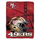 "San Francisco 49ers NFL ""Heritage"" Silk Touch Throw"