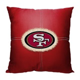 San Francisco 49ers NFL Letterman Pillow