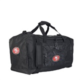 "San Francisco 49ers NFL ""Roadblock"" Duffel"
