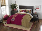 "San Francisco 49ers NFL ""Soft & Cozy"" Full Comforter Set"