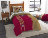 "San Francisco 49ers NFL ""Soft & Cozy"" Twin Comforter Set"