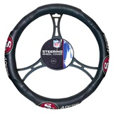 San Francisco 49ers NFL Steering Wheel Cover