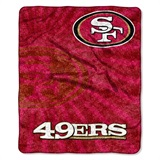 "San Francisco 49ers NFL ""Strobe"" Sherpa Throw"