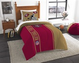 San Francisco 49ers NFL Twin Comforter and Sham Set