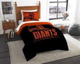 "San Francisco Giants MLB ""Grand Slam"" Twin Comforter Set"