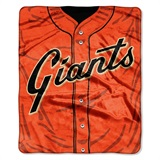 "San Francisco Giants MLB ""Jersey"" Raschel Throw"