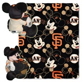 "San Francisco Giants MLB ""Mickey"" Hugger with Throw"