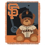 "San Francisco Giants MLB ""Strength"" Fleece Throw"