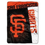 "San Francisco Giants MLB ""Strike"" Raschel Throw"