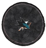 San Jose Sharks NHL Hockey Puck Shaped 3D Pillow